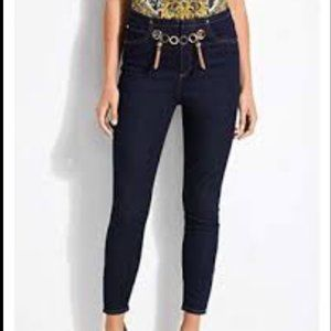 Guess Marilyn 3 Zip Skinny Jeans High rise,Size 27